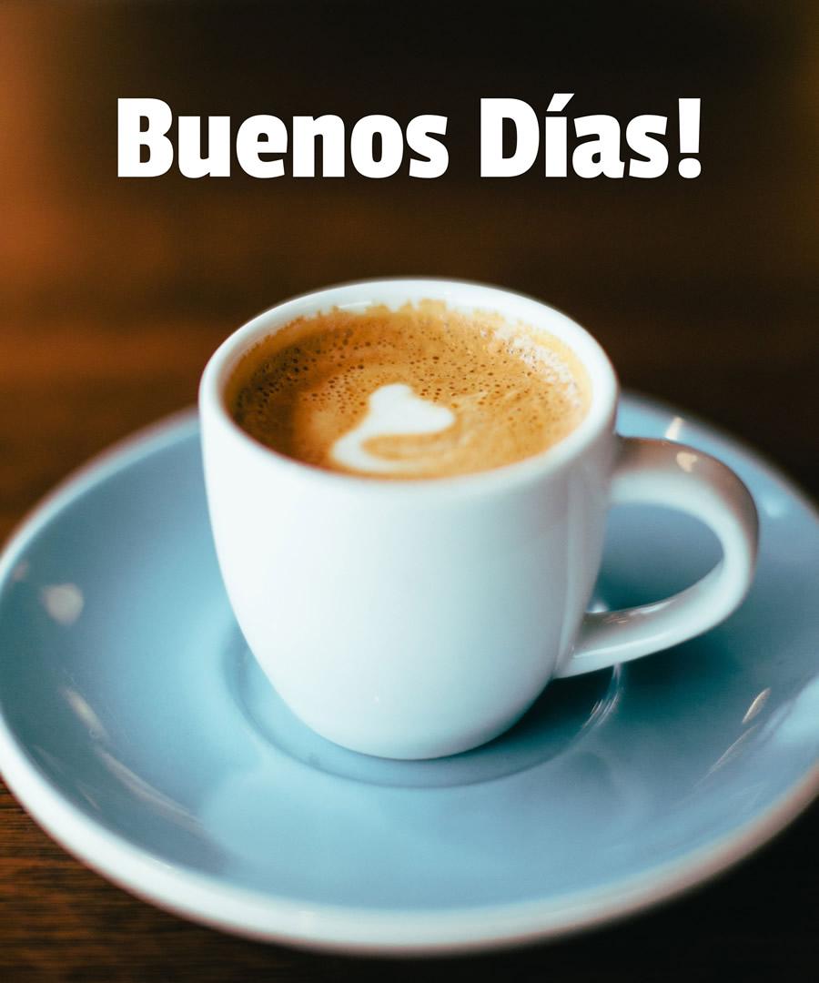 Sabrosa taza de café...