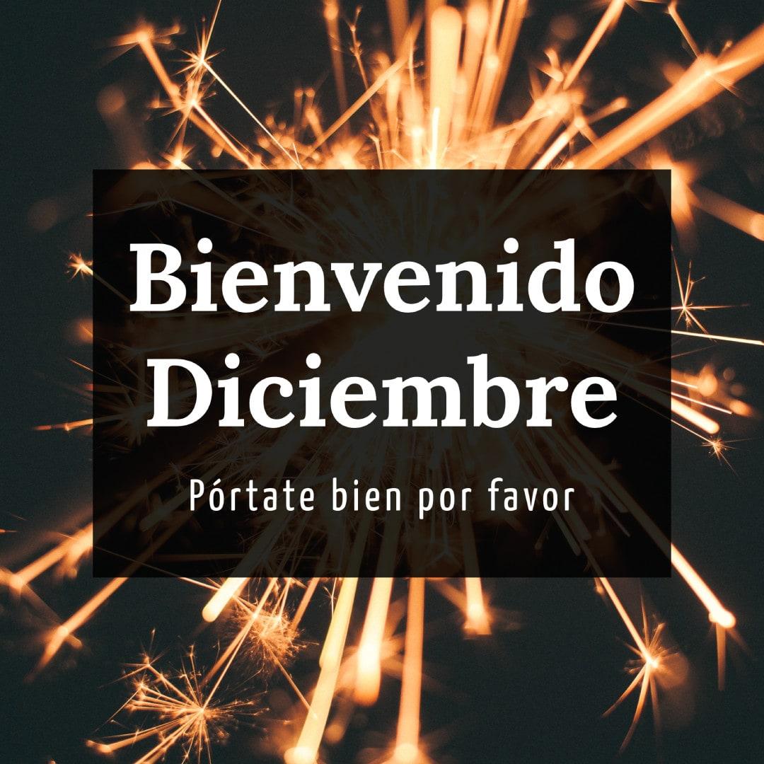 Bienvenido Diciembre...